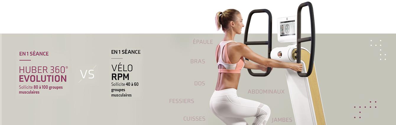 vignette fitness HUBER 360® EVOLUTION